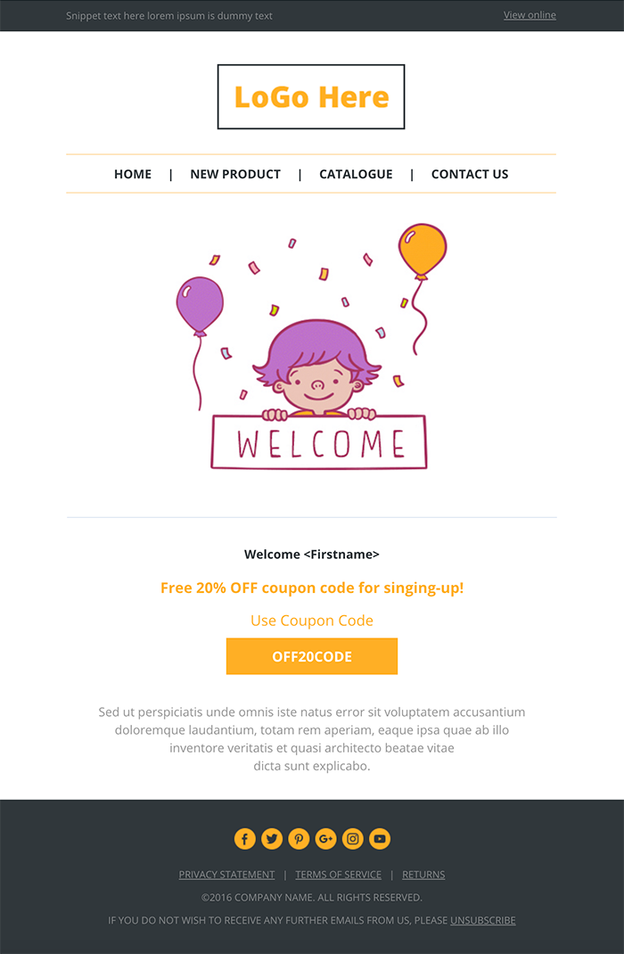 Top Best Responsive And Open Source Html Email And Newsletter - Open source email templates